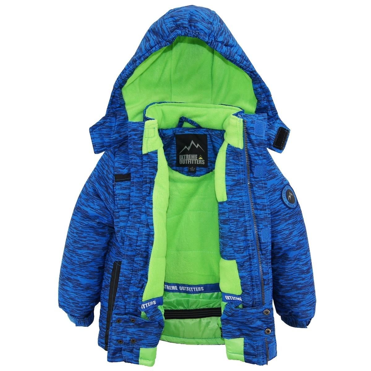 40dc67842 Shop Ixtreme Toddler Boys Colorblock Heavy Snowsuit Winter Ski ...