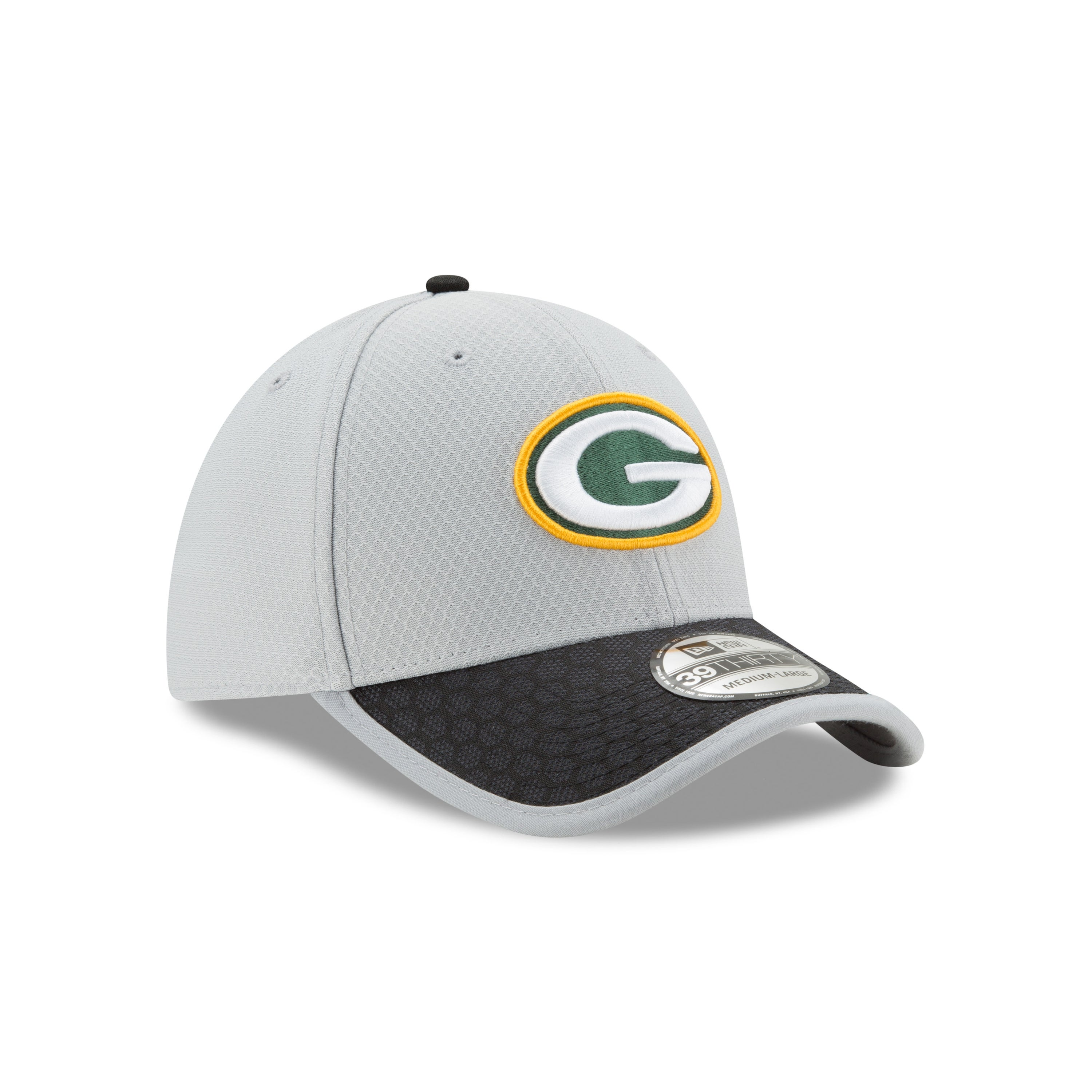 6e2f1322551 Shop Green Bay Packers 39THIRTY 2017 Sideline Hat