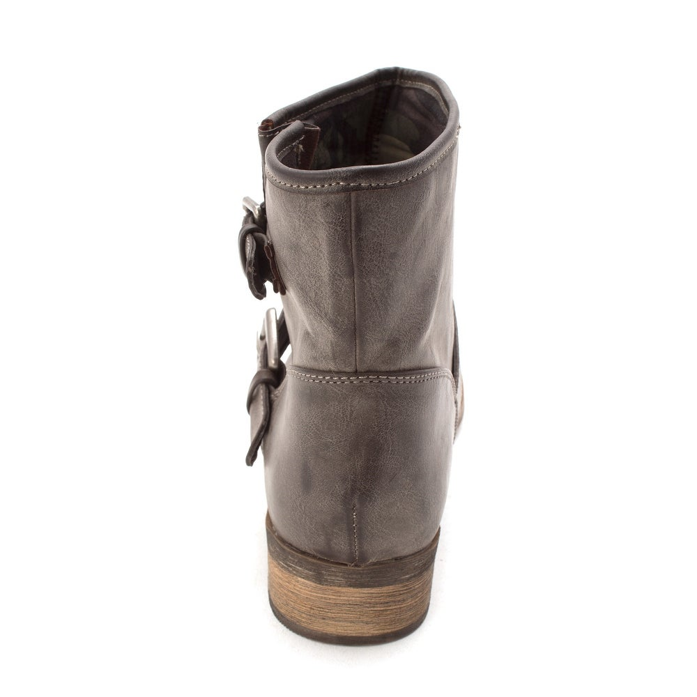 53b9d23ec8cd Shop Shï by Journeys Womens JoJo Closed Toe Ankle Fashion Boots - Free  Shipping On Orders Over  45 - Overstock - 21930384