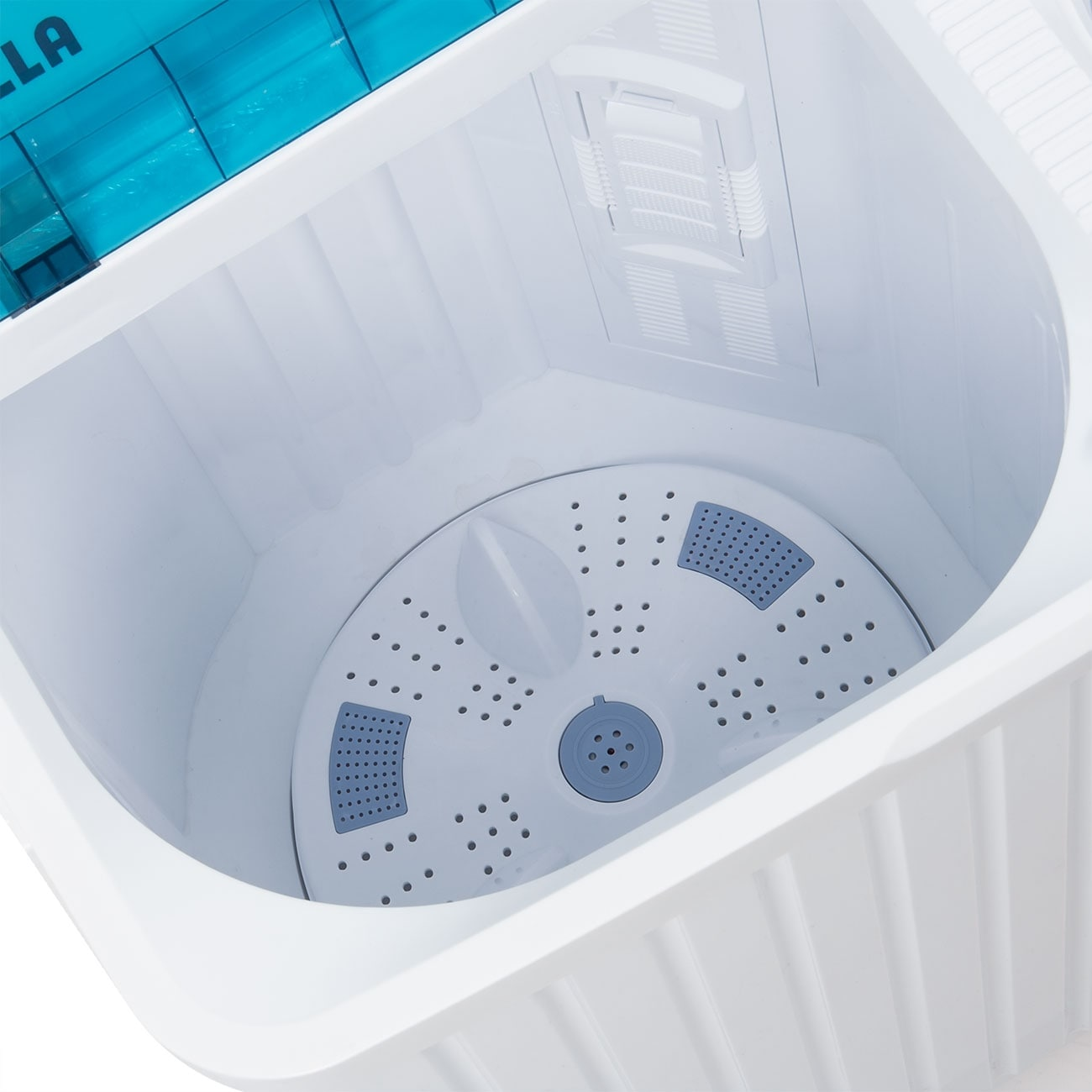 Della Portable Mini Compact Twin Tub Washing Machine Washer Spin ...