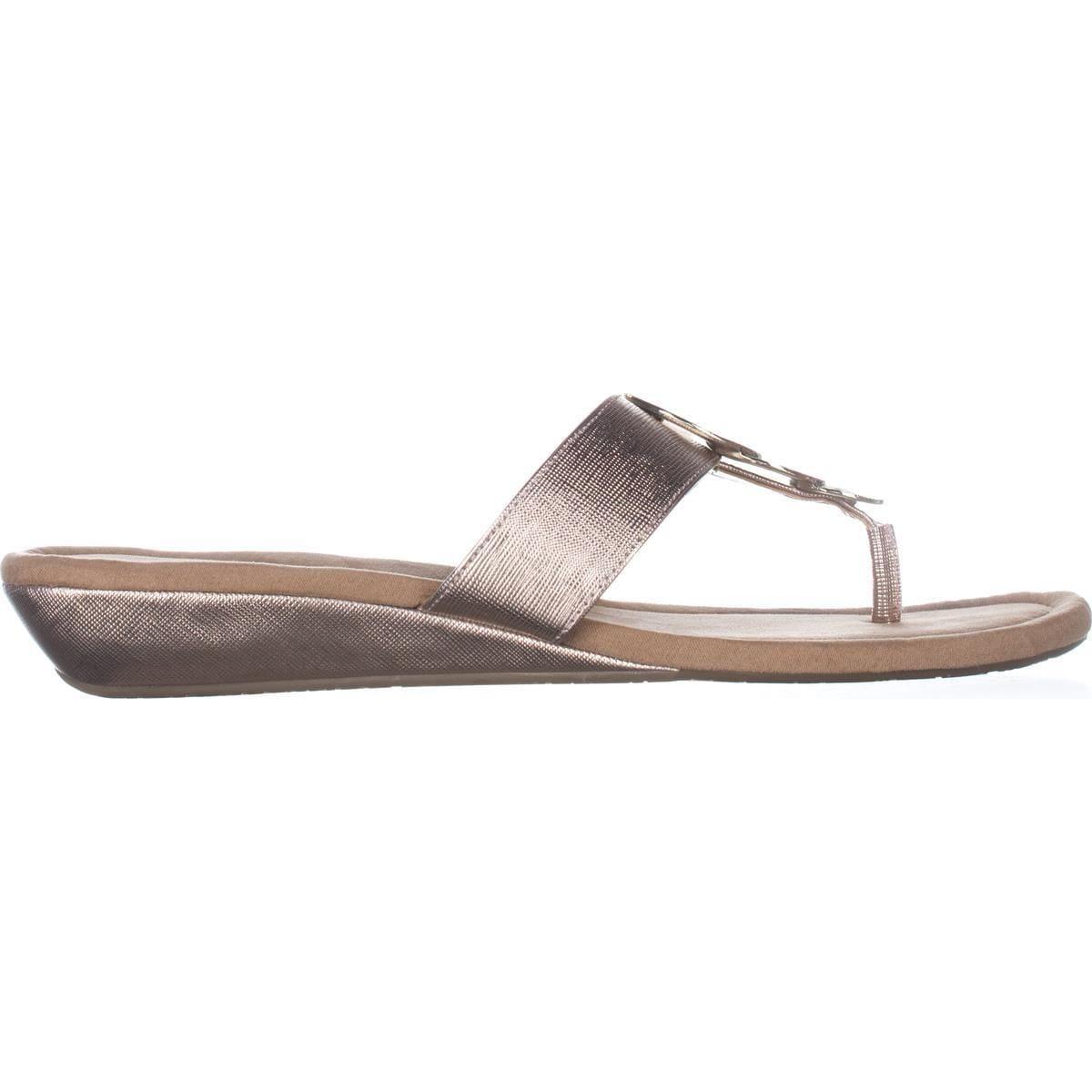 a5679e8f42f Shop A35 Fleur Thong Wedge Sandals