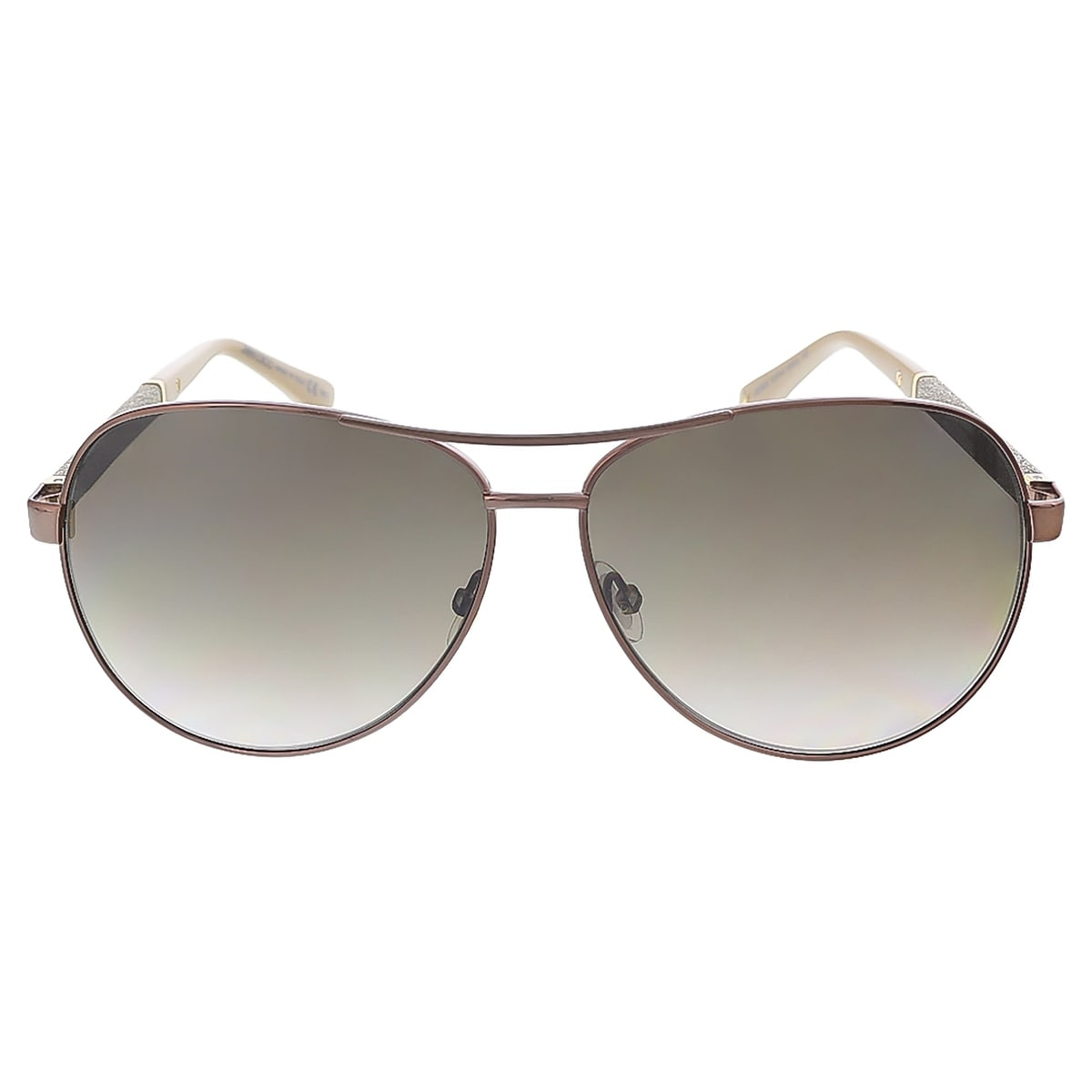 786f70e820 Shop Jimmy Choo LEXIE S 0EJW Bronze Aviator sunglasses - 61-12-135 - Free  Shipping Today - Overstock - 22253197