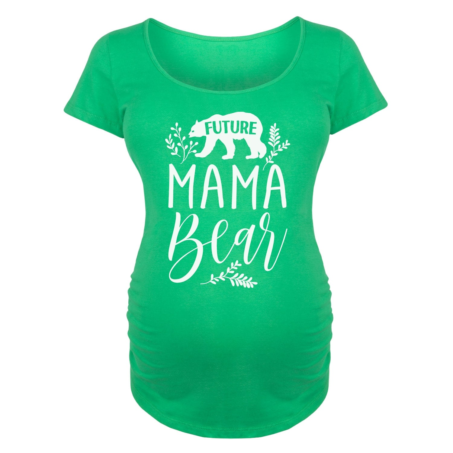 03cdae2283e08 Shop Future Mama Bear - Maternity Scoop Neck Tee - Free Shipping On Orders  Over $45 - Overstock - 20399959