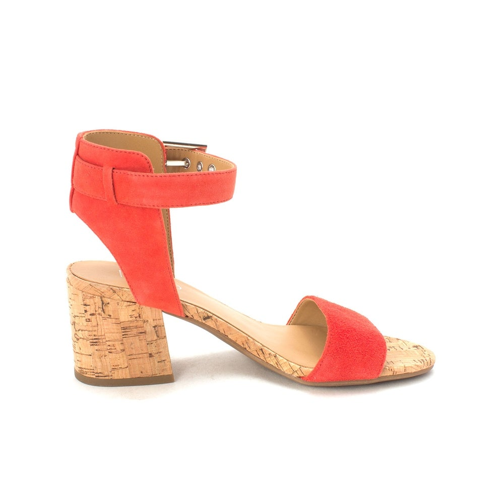 ebdac6ea1f3 Shop Franco Sarto Womens Melody Leather Open Toe Casual Ankle Strap Sandals  - Free Shipping Today - Overstock - 21154377