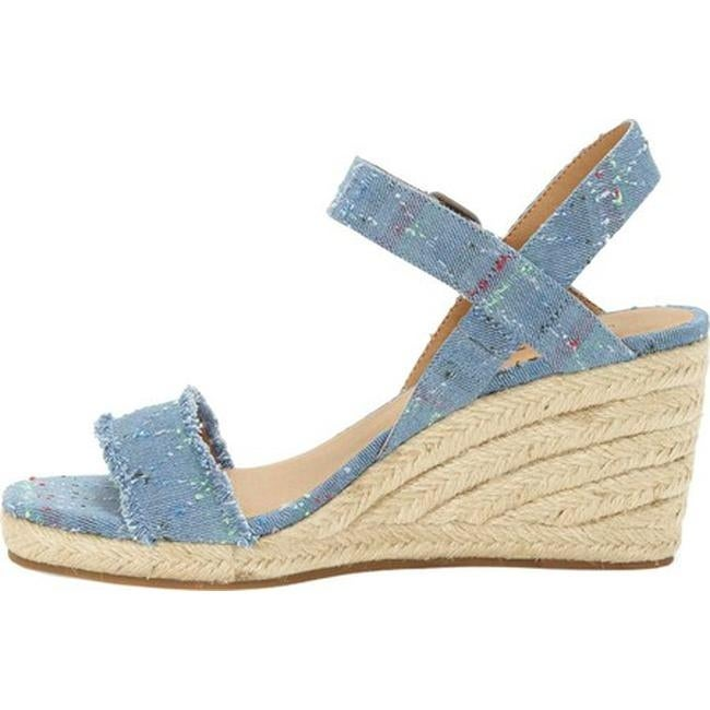 fc52107757 Shop Lucky Brand Women's Marceline Espadrille Light Denim Textile - Free  Shipping Today - Overstock - 21808412