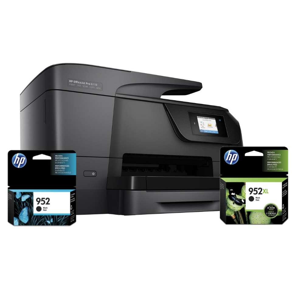 Shop Hp Officejet Pro 8710 Aio Bundle All In One 7410 Printer Drivers  Download Free Shipping