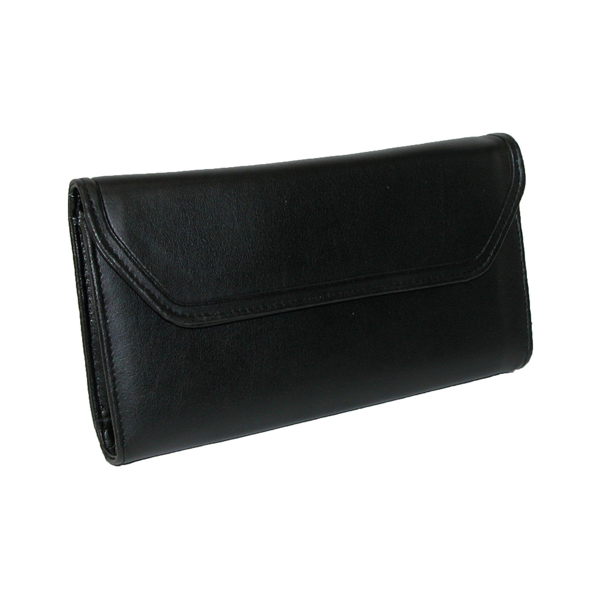 Leather checkbook calculator.
