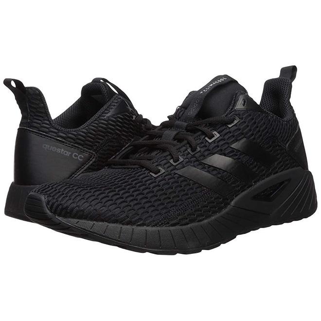 best website 0dbaa c9d54 Shop Adidas Mens Questar Cc Running Shoe, Core Black, Core Black, Carbon  S, 10 M Us - Free Shipping Today - Overstock.com - 25367357