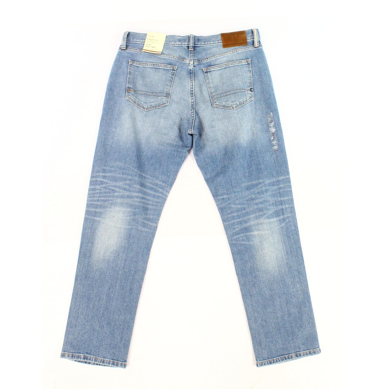 04a13502 Shop Tommy Hilfiger Blue Mens Size 33X32 Slim Skinny Stretch Jeans ...