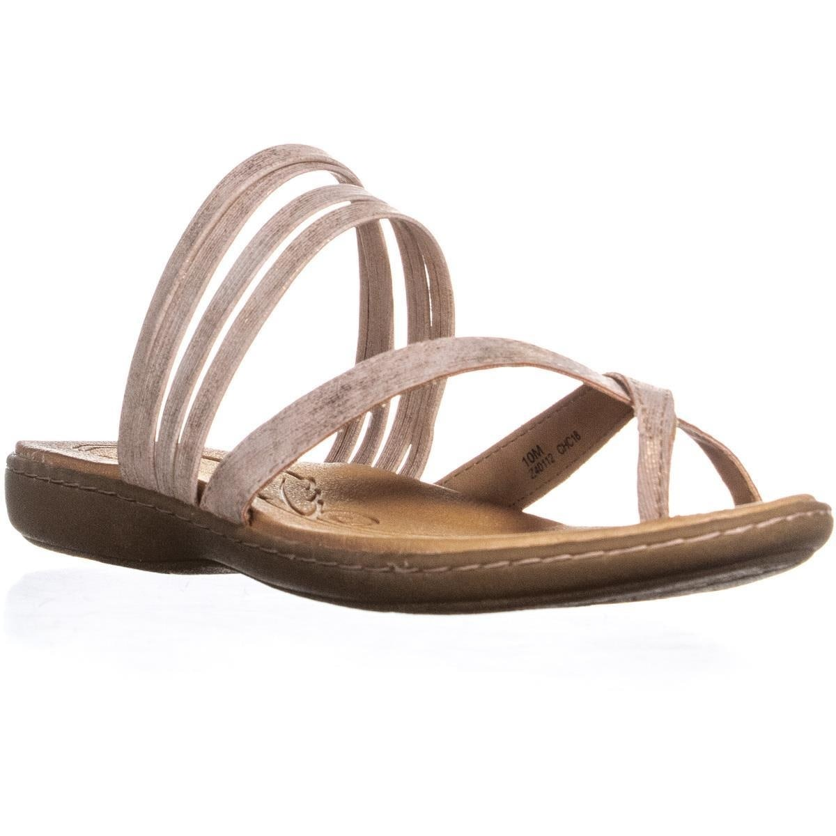 0d0a4ca8fca69 Shop Born Alisha Toe Strap Flat Slip On Sandals