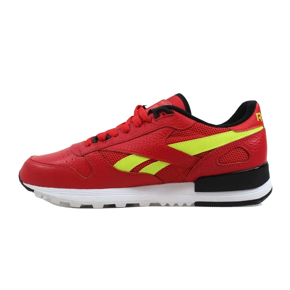 9529a9ccf9a Shop Reebok Classic Leather 2.0 Primal Red Black-Solar Yellow BS9445 Men s  - On Sale - Free Shipping On Orders Over  45 - Overstock - 27339535