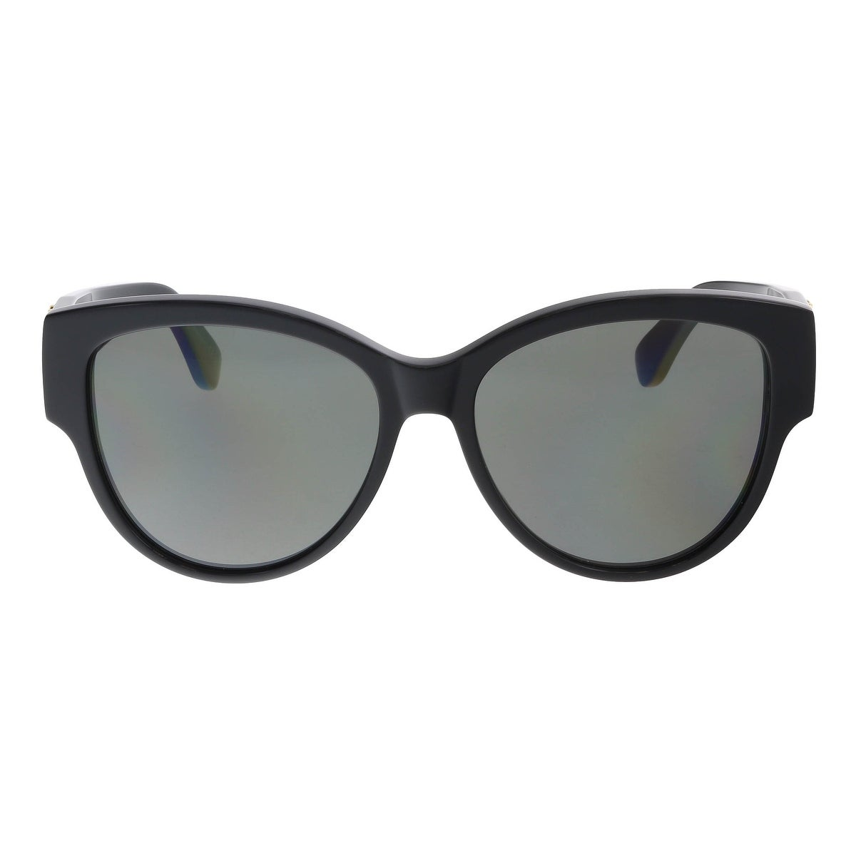 5cf58619135fd Shop Saint Laurent SL M3-002 Black Cat Eye Sunglasses - 55-16-140 - Free  Shipping Today - Overstock - 16693314
