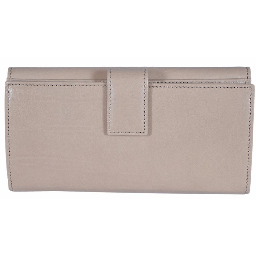cf6ff8c9bee2 Shop Gucci Women's 231835 LIght Beige Washed Leather Continental W/Coin  Wallet - 7.5