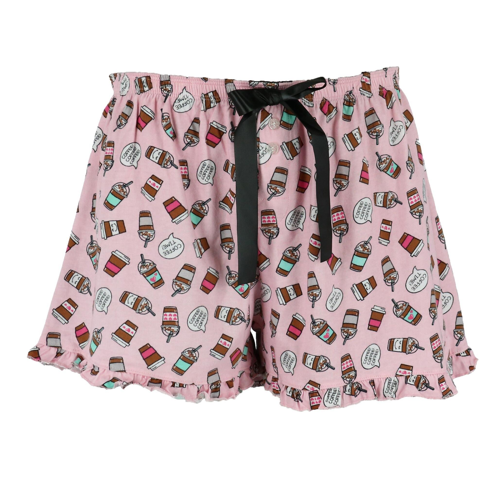 b3bdf665556 LaLa Sleepwear Junior's Plus Size Tank and Shorts Pajama Set