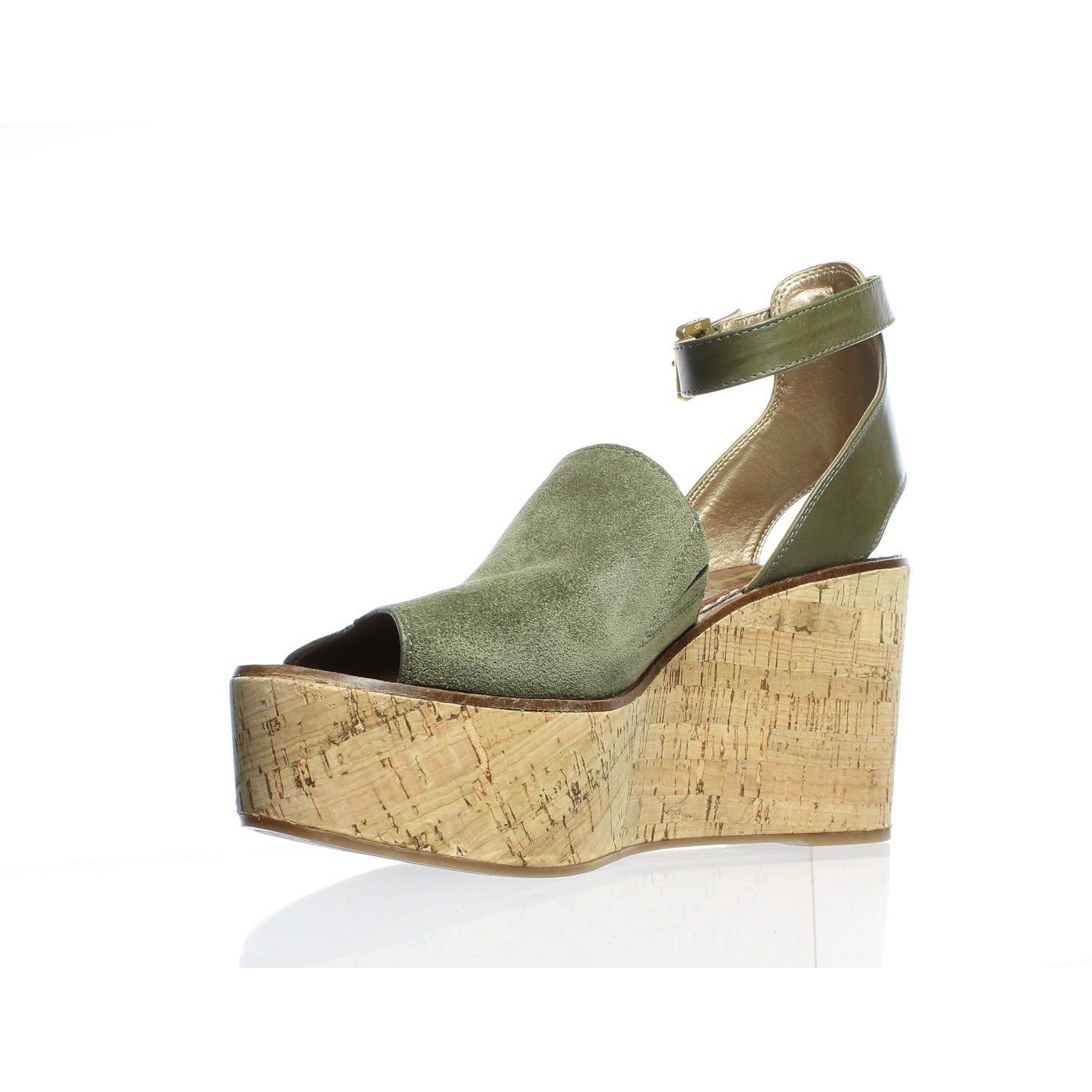 79e275d74 Shop Sam Edelman Womens Devin Green Ankle Strap Heels Size 10 - On Sale -  Free Shipping On Orders Over  45 - Overstock - 25586083