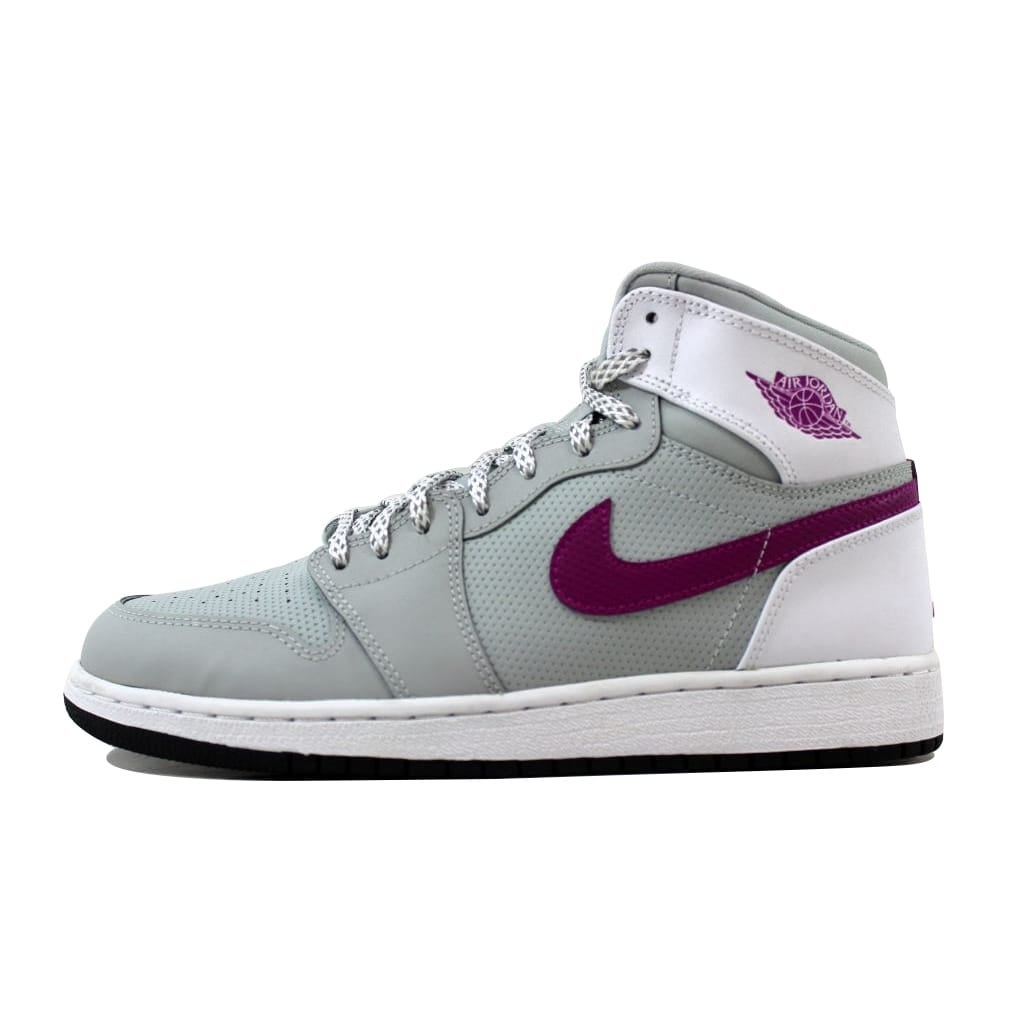 bc6c66d8523e61 Shop Nike Air Jordan 1 Retro High GG Grey Mist Fuchsia Flash-White-Black  332148-018 Grade-School - Free Shipping Today - Overstock - 20617769