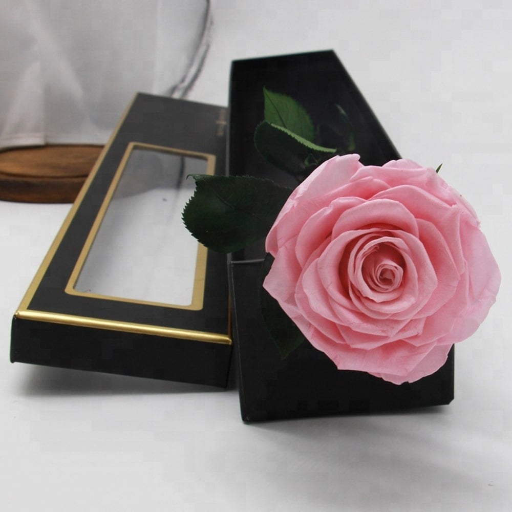 Real Preserved Rose In A Luxury Gift Box Last Up To Year Free Shipping On Orders Over 45 24089443