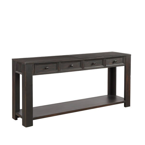 Console Table for Entryway Hallway Sofa Table with Storage Drawers