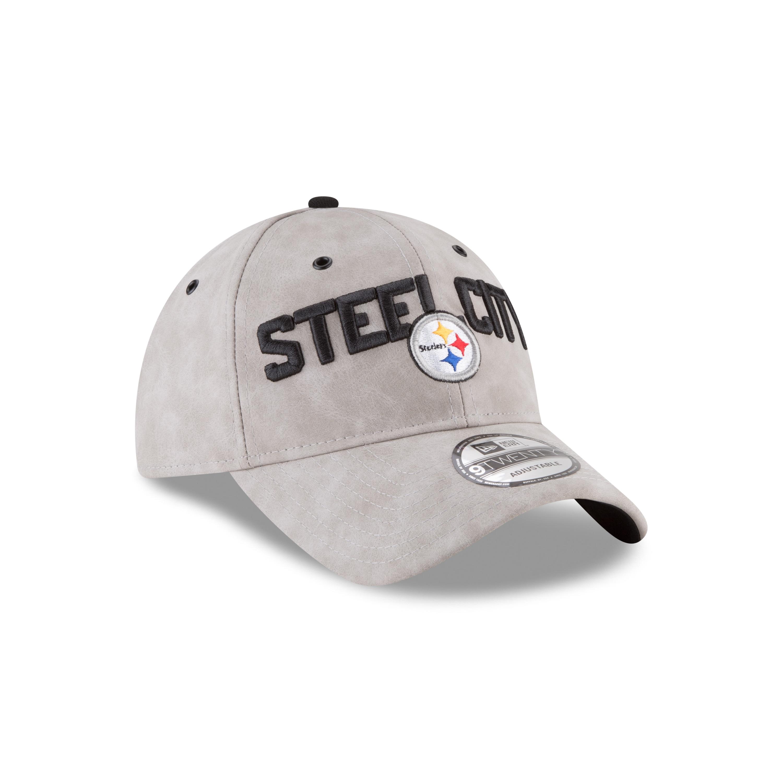 54c775b3598fc Pittsburgh Steelers 2018 Spotlight 9TWENTY Adjustable Strapback Hat. by New  Era