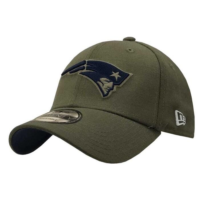 d12b8ddf2 New Era 2018 NFL New England Patriots Salute to Service Ball Cap 920  Military