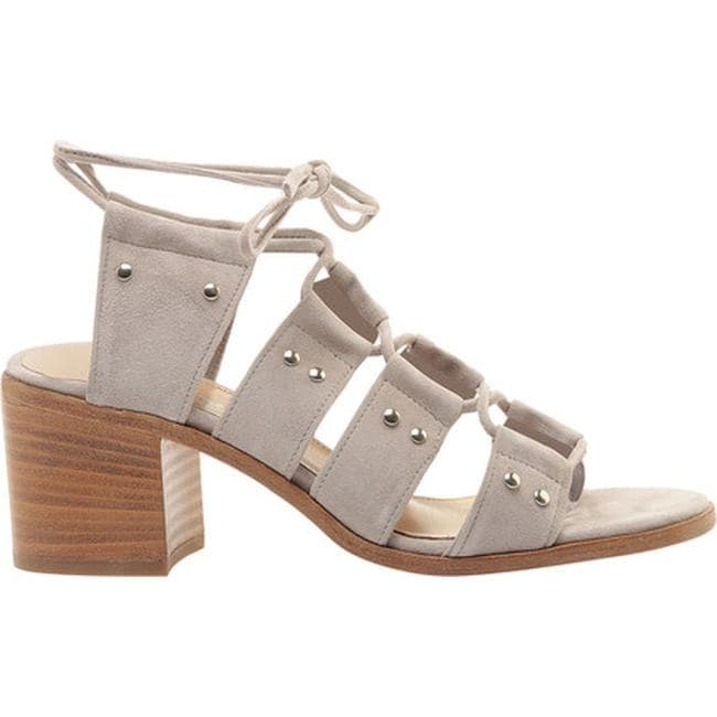 41004247104 Shop Charles David Women s Birch Ghillie Lace Sandal Grey Suede - On Sale -  Free Shipping Today - Overstock - 14810360