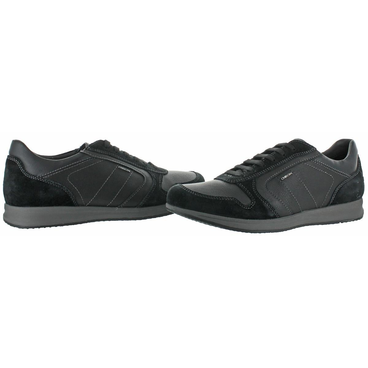 a5f33638b2 Shop Geox Respira Mens Avery Fashion Sneakers Mixed Media Breathable - Free  Shipping Today - Overstock - 23843865