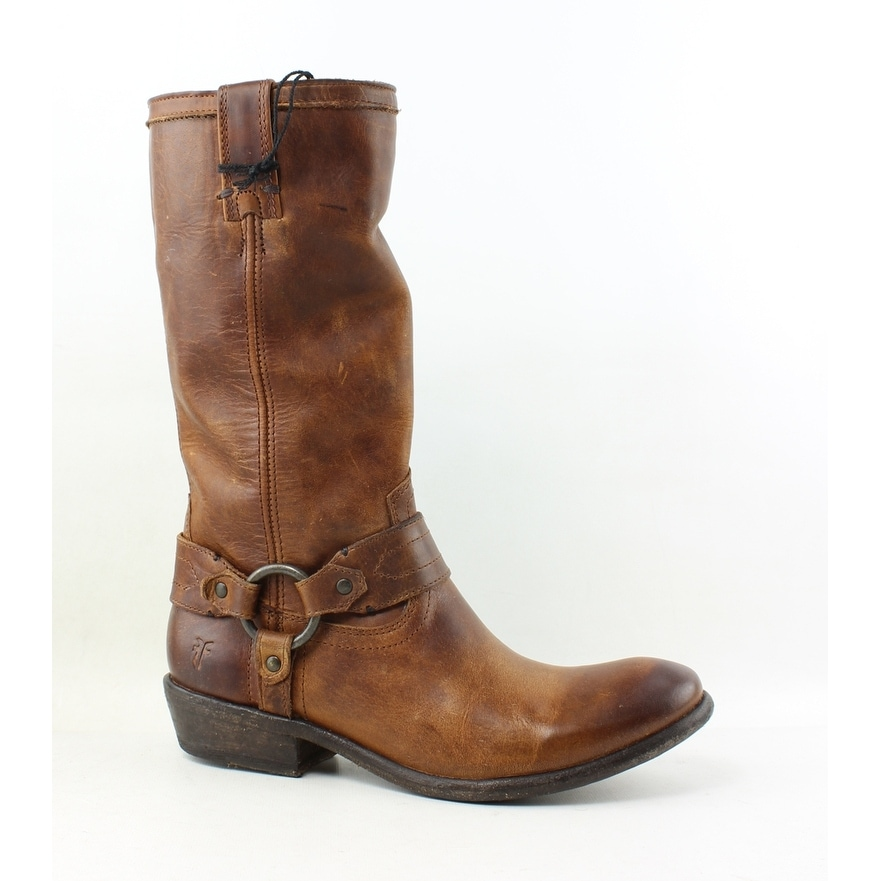 43f60914254 Frye Womens Carson Brown Riding, Equestrian Boots Size 6.5