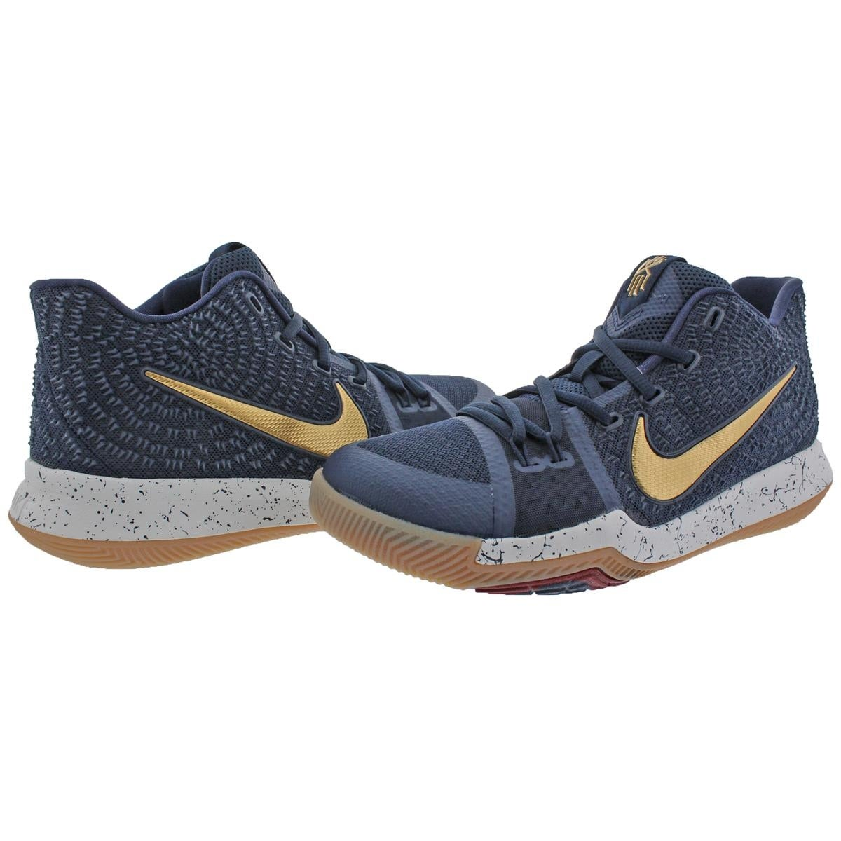 classic fit 2dafa 0556b Shop Nike Boys Kyrie 3 Basketball Shoes Colorblock Mids - Ships To Canada -  Overstock - 22025161