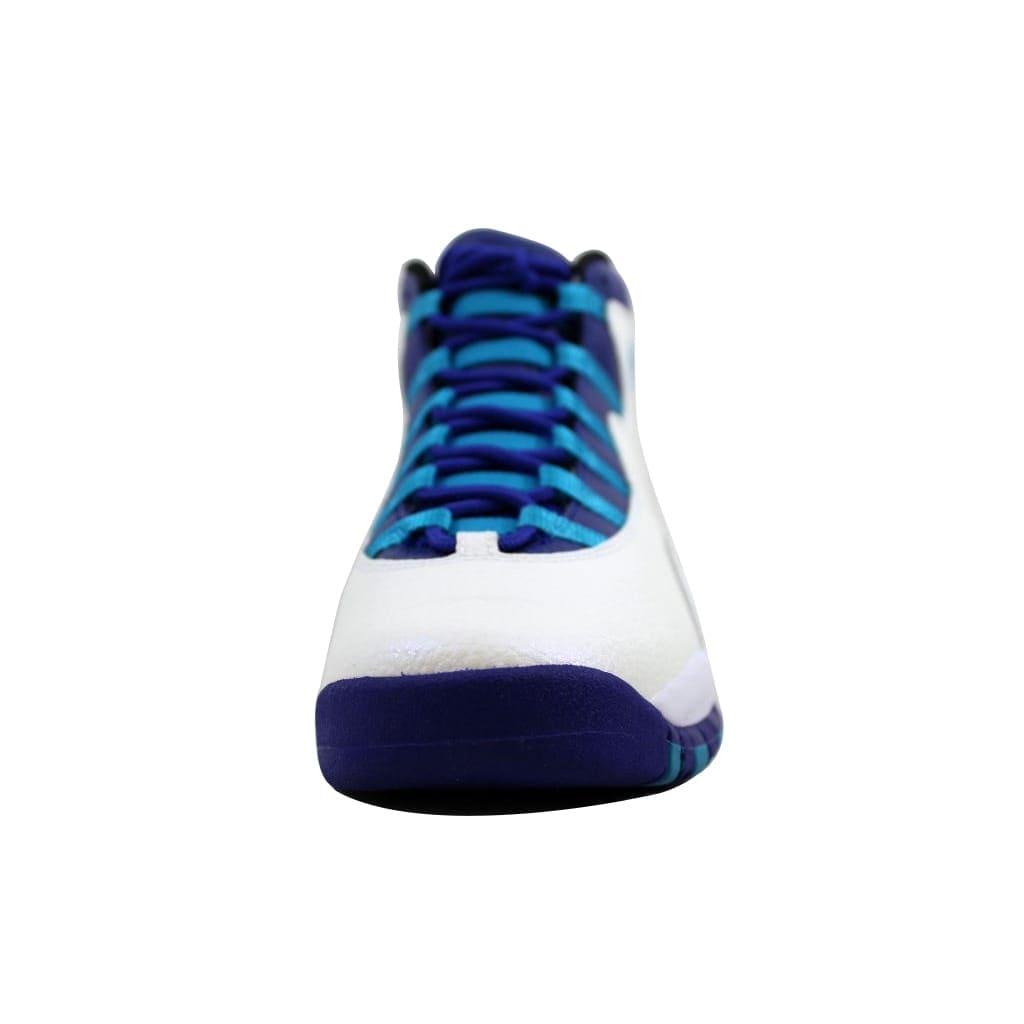 best website c6d47 16927 Shop Nike Air Jordan X 10 Retro White Concord-Blue Lagoon-Black 310806-107  Grade-School - Free Shipping Today - Overstock - 21893648