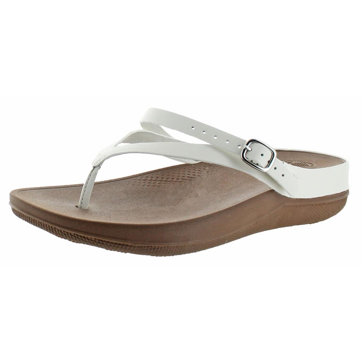 d2a3a57f36973 Fitflop Womens Flip Wedge Sandals Microwobbleboard