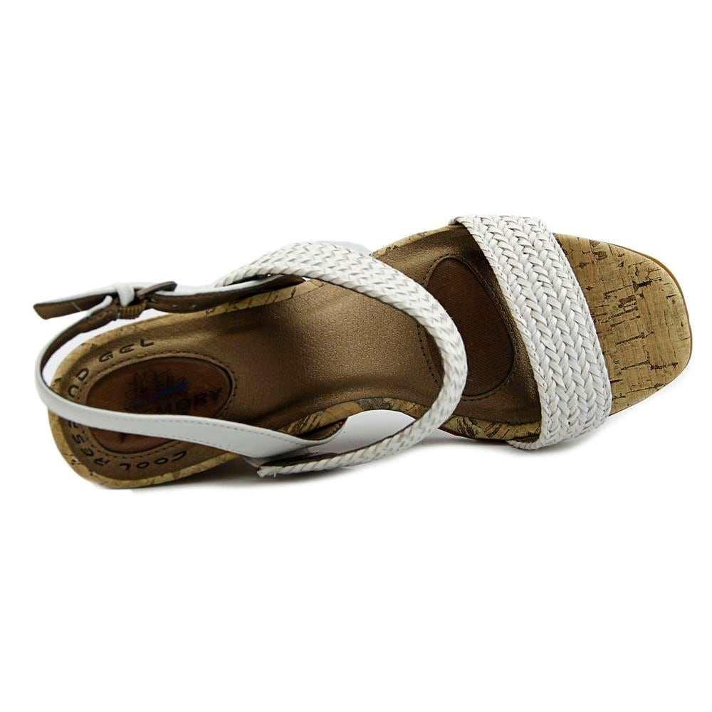 e16ef7fdf1ab Shop Life Stride Persona Women Open Toe Synthetic White Wedge Sandal - Free  Shipping On Orders Over  45 - Overstock - 14377337