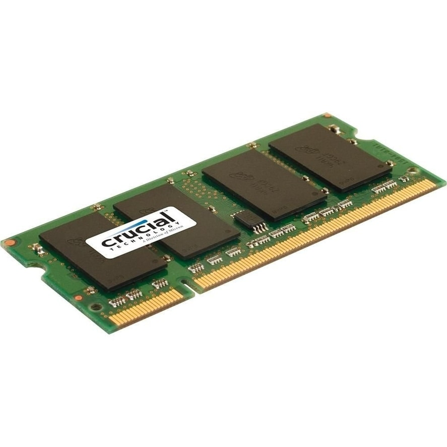 Shop Crucial Ct25664ac800 2gb 200 Pin Sodimm Ddr2 Pc2 6400 Laptop Memory So Dimm Module Free Shipping On Orders Over 45 19513536