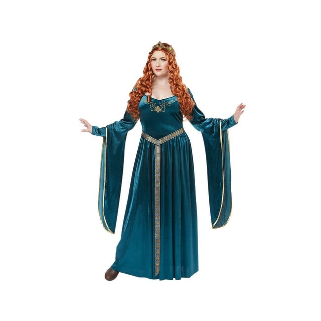 Shop Plus Size Lady Guinevere Costume Plus Size Medieval Costume