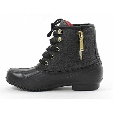 0627b0122fd Tommy Hilfiger Womens Roan Suede Cap Toe Ankle Cold Weather Boots