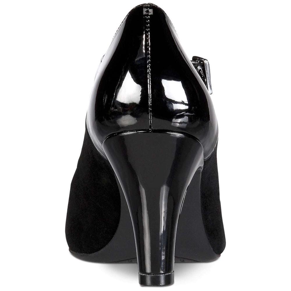 726da1f35e Shop Giani Bernini Womens Velmah Leather Closed Toe Ankle Strap Mary Jane  Pumps - Free Shipping On Orders Over $45 - Overstock - 27622497