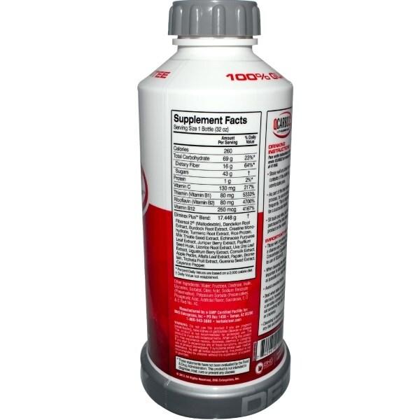 Shop Herbal Clean Detox Q Carbo 32 Liquid Tropical 32 Oz Free