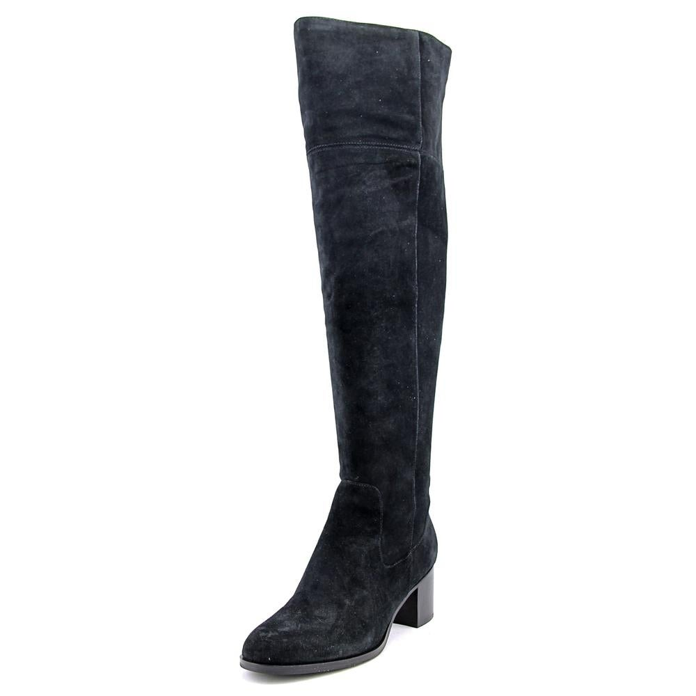 f2c043891666 Shop Marc Fisher Escape Wide Calf Women Black Boots - Free Shipping ...