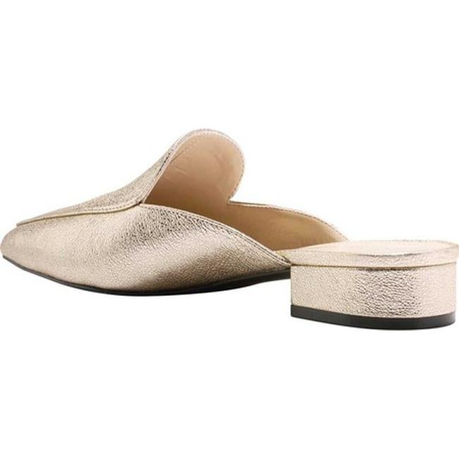 894ba09a3c3 Shop Cole Haan Women s Piper Mule Silver Metallic Velvet Glitter - On Sale  - Free Shipping Today - Overstock - 18798696