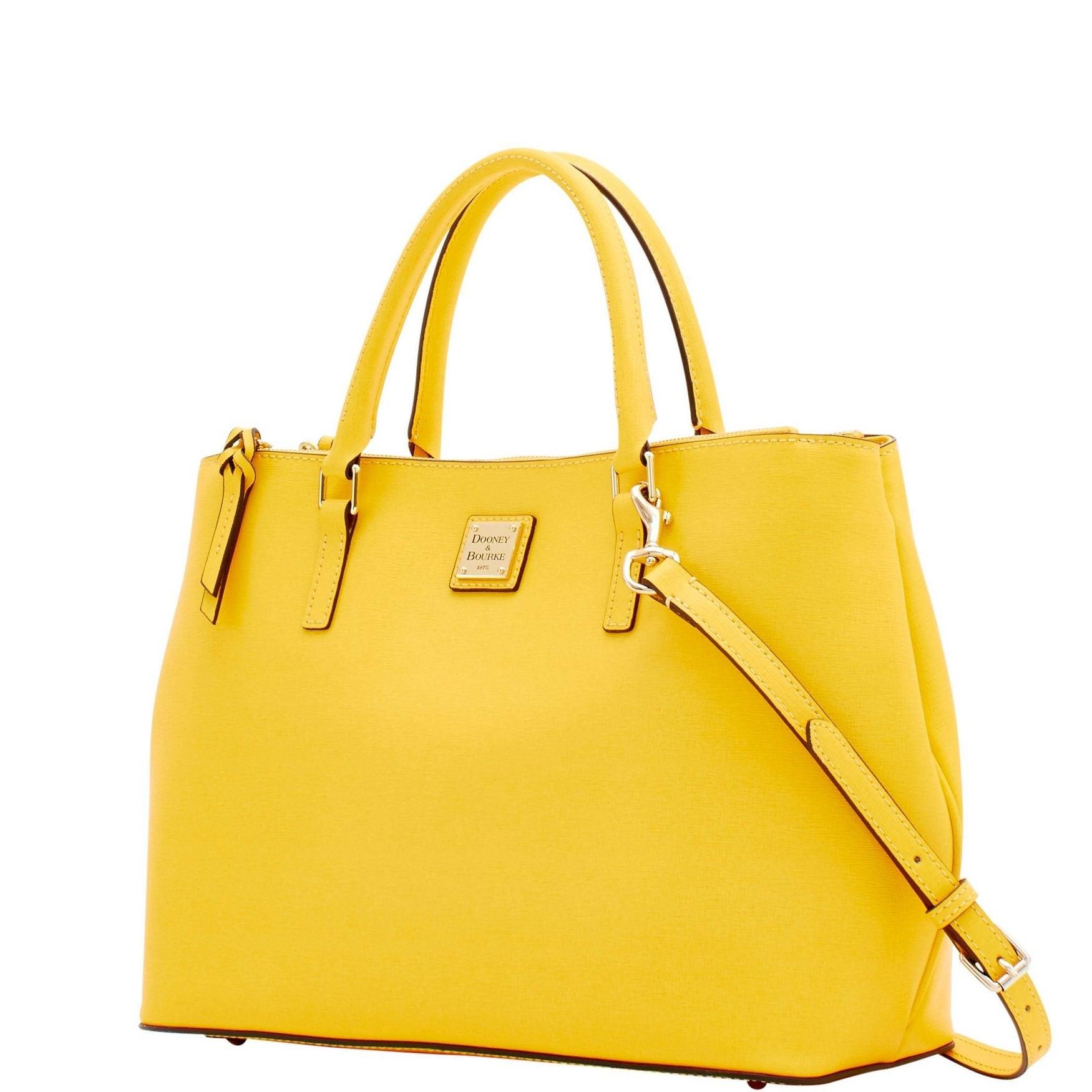 3792836d9 Shop Dooney   Bourke Saffiano Willa Zip Satchel (Introduced by Dooney    Bourke in Feb 2018) - Free Shipping Today - Overstock - 20122043