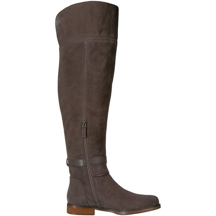 63b6e50fe1c1 Shop Franco Sarto Womens Crimson Leather Closed Toe Over Knee Fashion Boots  - Free Shipping Today - Overstock - 22810096