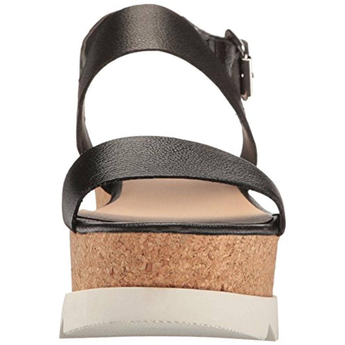 5854e429c14b Shop Steve Madden Womens Krista Flatform Sandals Metallic Open Toe - Free  Shipping Today - Overstock - 21137062