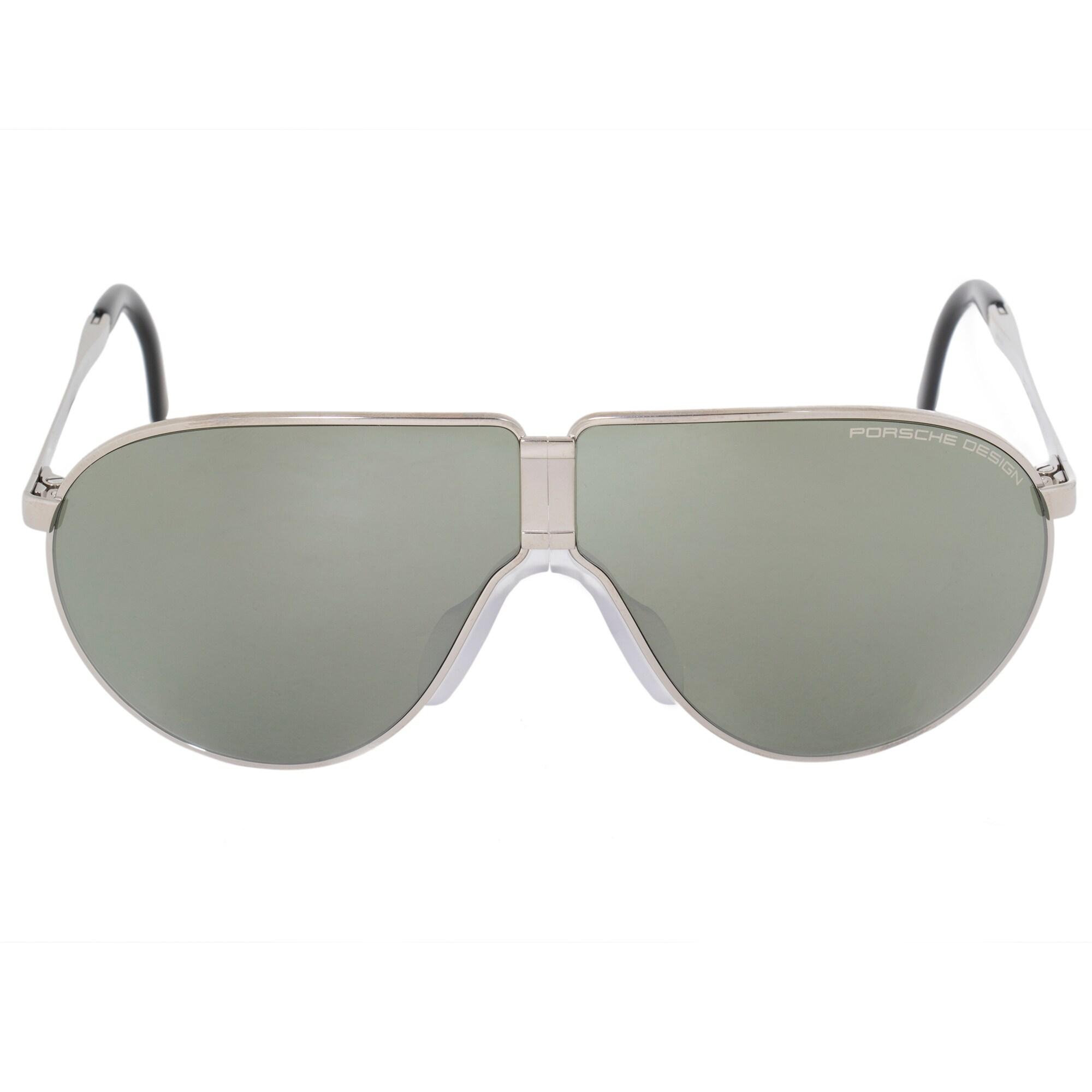 2ec38e6cc7 Porsche design heritage unbreakable foldable sunglasses for men titanium  frame olive silver mirror jpg 2000x2000 Olive
