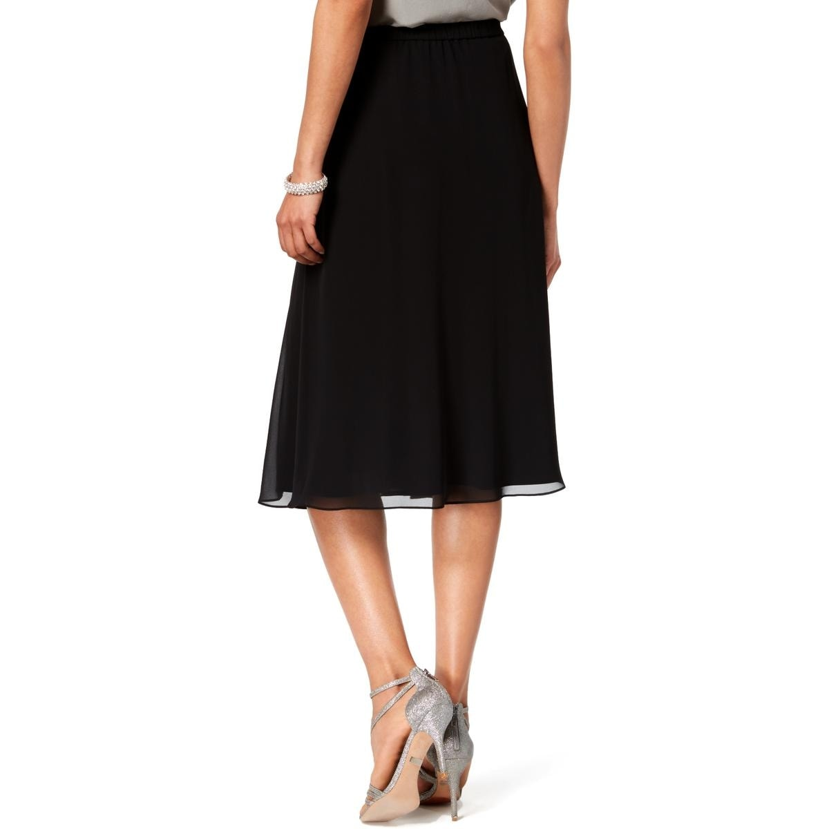 0c678c92cb Shop Alex Evenings Womens A-Line Skirt Chiffon Knee-Length - Free Shipping  On Orders Over $45 - Overstock - 28276346