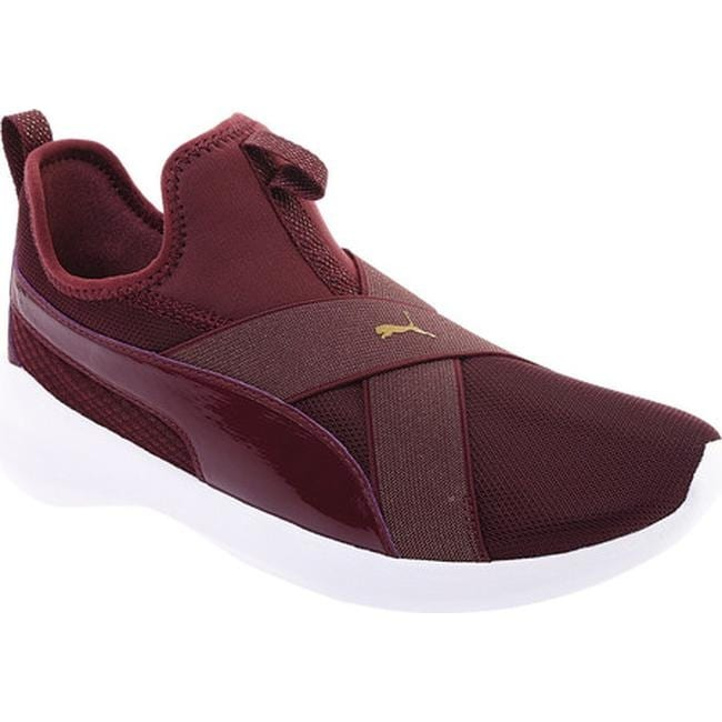 955a3cefc542 Shop PUMA Women s Rebel X Bling Slip-on Sneaker Fig Fig - Free ...