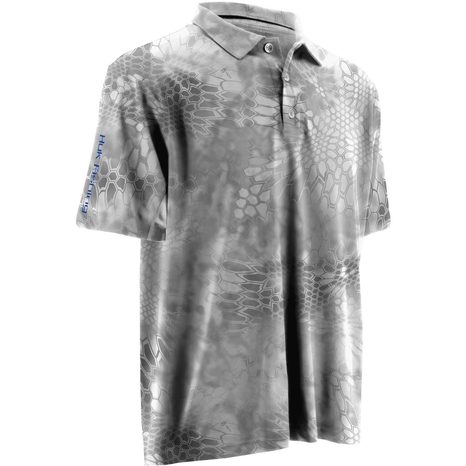 c57914c831a Shop Huk Men s Kryptek Icon Yeti Royal Large Polo Short Sleeve Shirt - Free  Shipping On Orders Over  45 - Overstock - 24219771