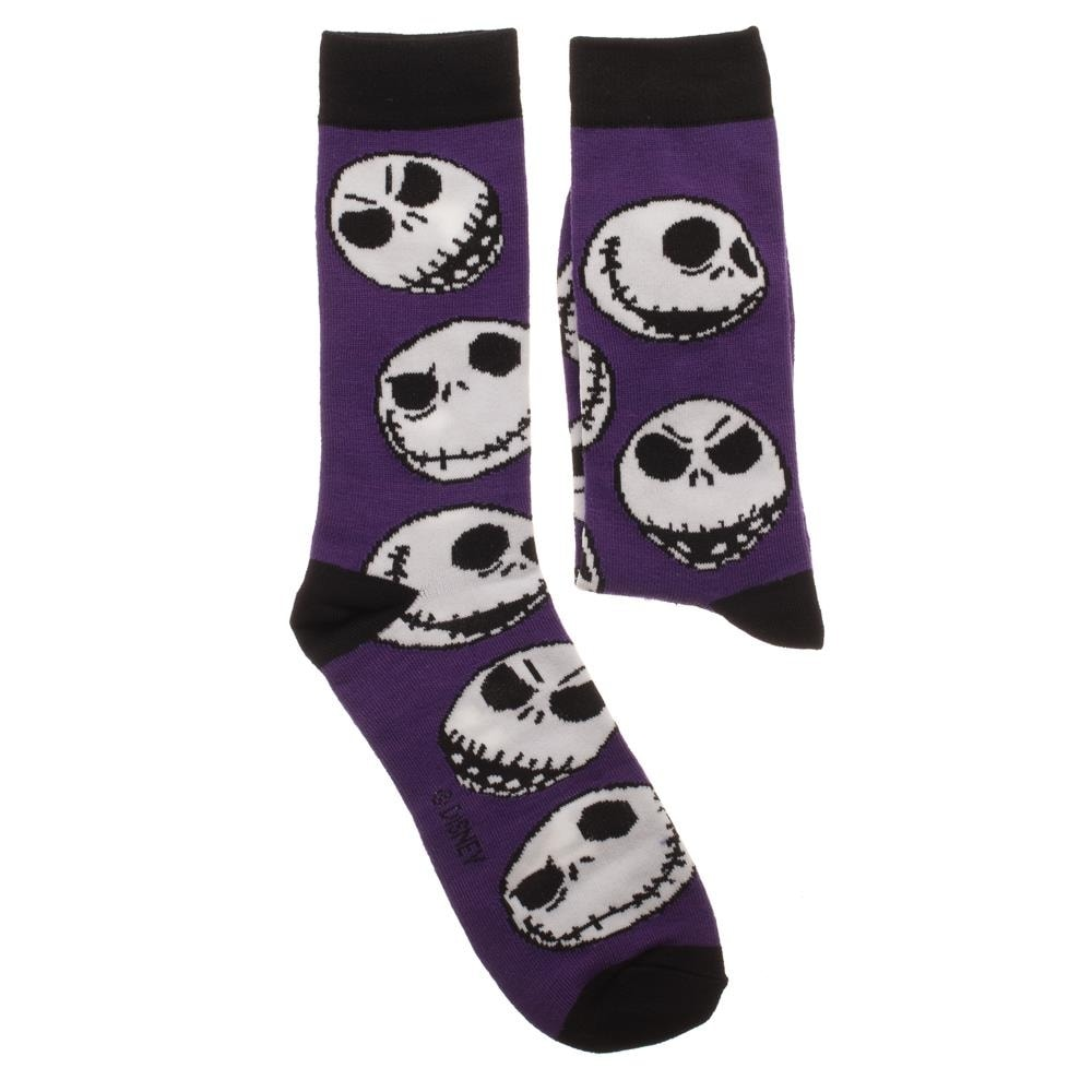 Shop The Nightmare Before Christmas 3-Pack Crew Socks Set, 10-13 ...