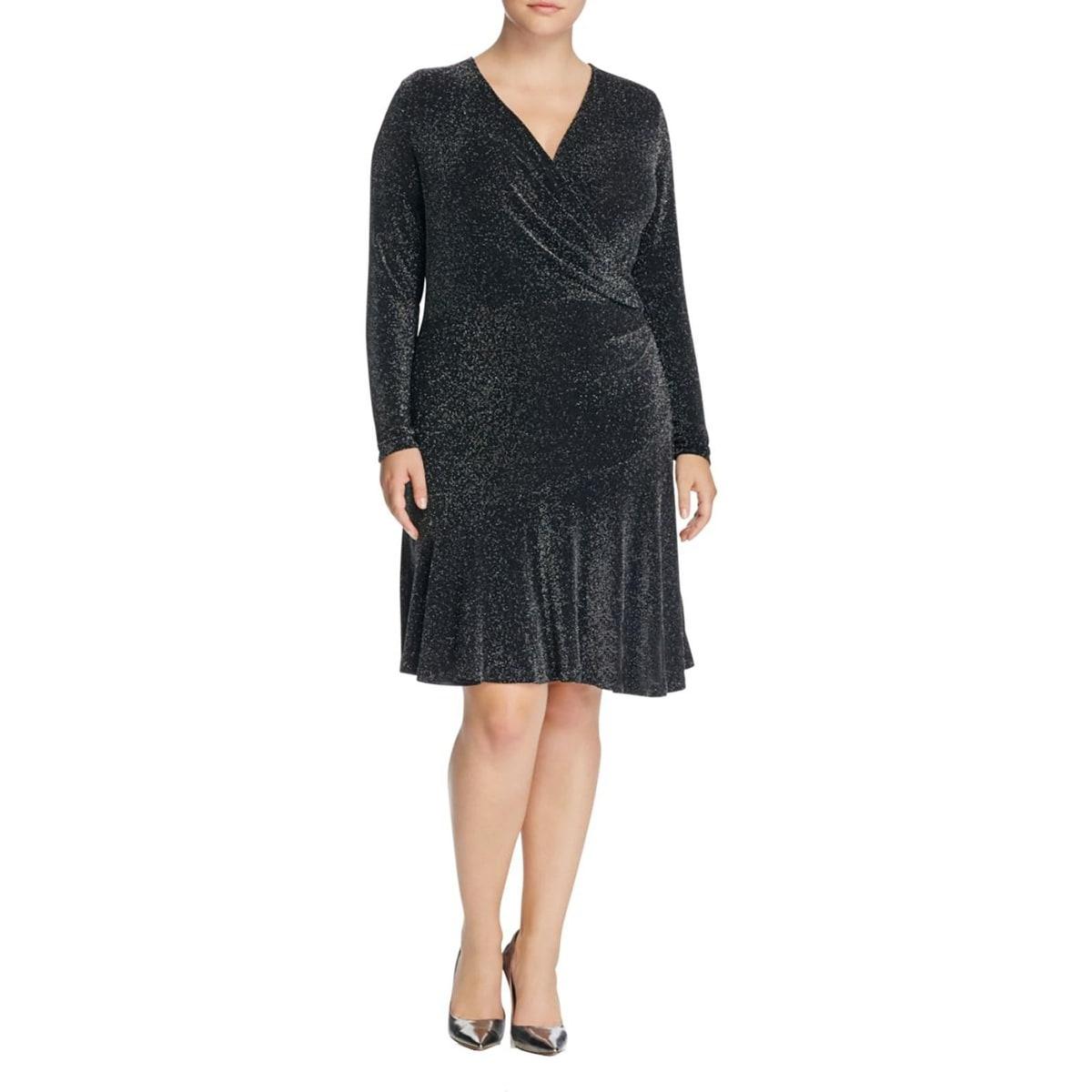 Shop MICHAEL Michael Kors Womens Plus Evening Dress Special Ocassion ...