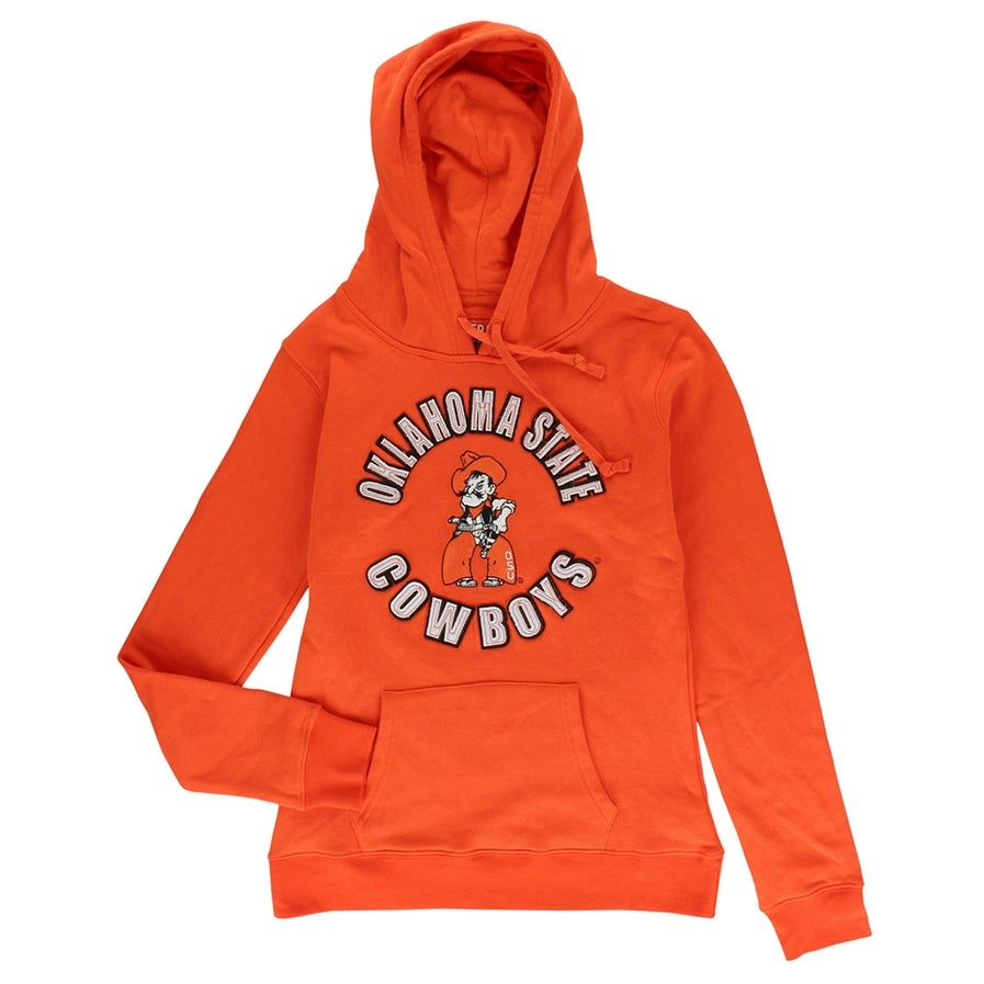 check out 237fc f725d Cover One Womens Oklahoma State Cowboys Pullover Hoodie Orange - S
