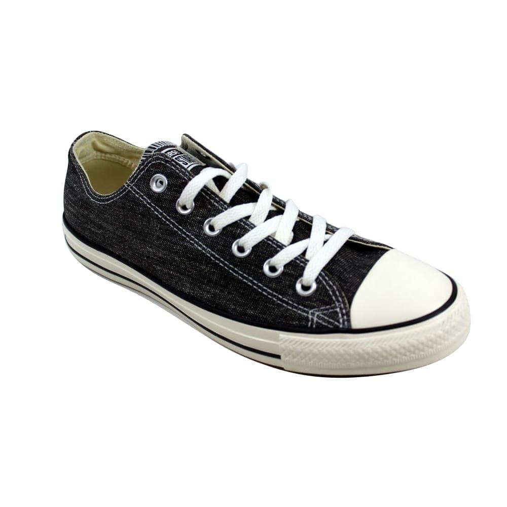 043613345ea6f Converse Men's Chuck Taylor Ox Black Egret/Black Denim 147037F Size 12
