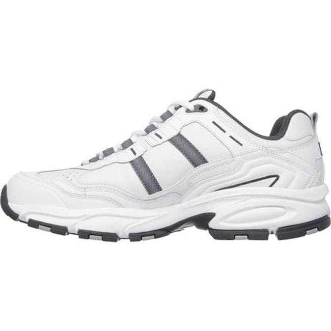 9067ce889c4a Shop Skechers Men s Vigor 2.0 Serpentine White Gray - On Sale - Free  Shipping Today - Overstock - 8335825